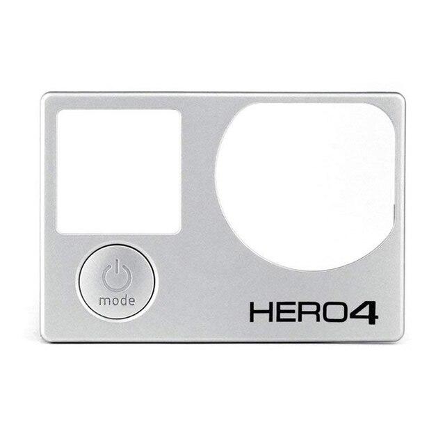 Tamir kiti için ön kurulu GoPro yedek ön kapak 100% yepyeni orijinal ön Panel kapak GoPro Hero 4 siyah/ gümüş