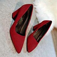 Mulheres sapatos de Salto Alto Sapatos 7.5 cm Calcanhar Bloco sexy apontou dedos abertos bombas mulher sapatos de trabalho OL zapatos mujer EUR 34-39