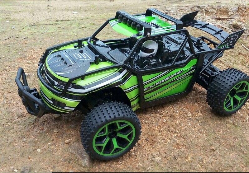 Ewellsold 1/18 2.4G 4WD haute vitesse supprimer contrôlée buggy Radio Contrôlée Machine À Grande Vitesse Micro Racing Voitures Modèle Jouets