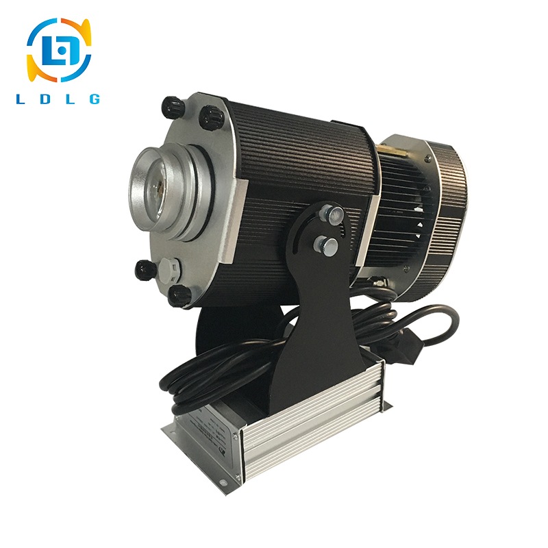 2017 Hot Sale Festival Static Images 40W LED Projector Lights Aluminum Alloy 4500lm Custom Gobo Projector with 1 One Color Gobo