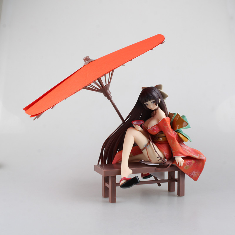 Anime Native Tony Geisha Sakuran Invitation Kimono Nakahara Tomoe Boxed PVC Sexy Girl Action Figure Model Doll Toys Gift kaypro краска для волос kay direct 100 мл