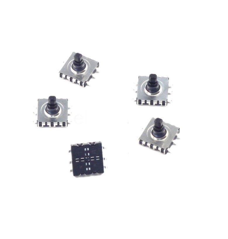 5 pcs 5 Direction way Tact Switch SMD 6 Pin 10*10*9mm for Navigation Button NEW сигнализатор поклевки hoxwell new direction k9 r9 2 1