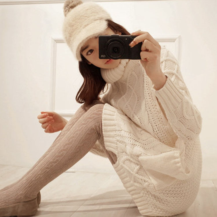 Autumn Winter font b Women b font Fashion Pullover font b Sweaters b font Long Sleeve