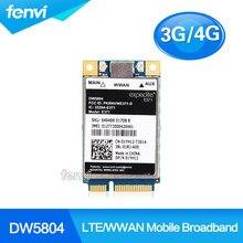 Entriegelt Wireless DW5804 4G LTE WWAN Mobile Broadband 01YH12 E371 PCI-E 3g/4g Karte WLAN WCDMA modul Modem Adapter für Dell