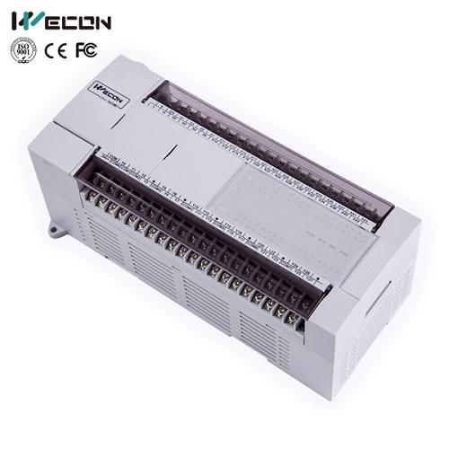 wecon LX3V-3624MT-D 60 points plc smart controller for industrial automation wecon 60 points plc support rtu modem lx3vp 3624mr2h a