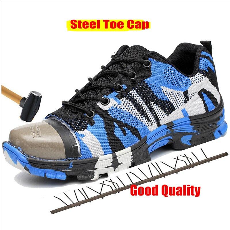 Shoes green Dos Casual Os Tênis Sapatos Blue Para Hombre Toursh Segurança Homens Shoes De Krasovki Trabalho Zapatos Safety zqPZa