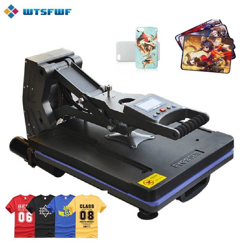 Wtsfwf ST-4050B 40*50CM Non Hydraulic Heat Press Printer Machine 2D Thermal Transfer Printer for Tshirts Cases Pads Printing