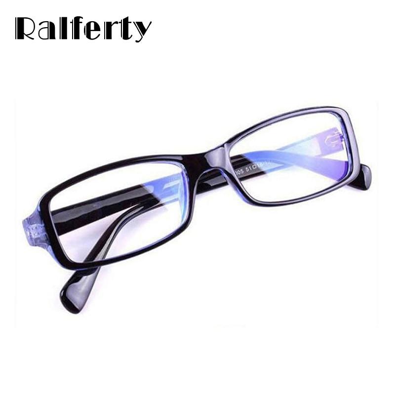 Ralferty Óculos de Armação de Alta Qualidade óculos de proteção Anti-fadiga  Óculos de Computador Moda Mulheres Homens Dos Quadros Dos Vidros Com Lentes  de ... aa6fe29bef