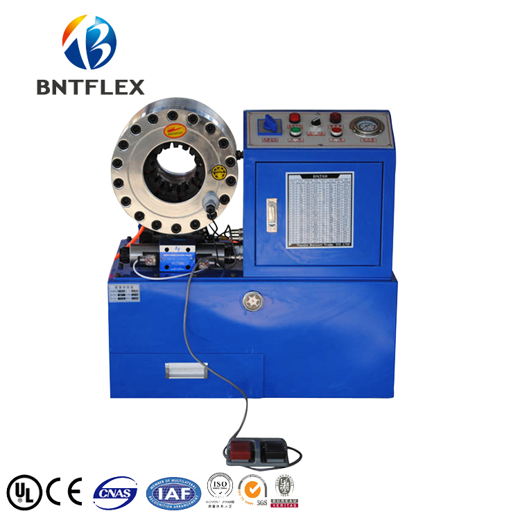 2018 BNTFLEX68 Hose Press Machine/Brake Hose Crimping Machine/ Swager press brake dies press brake moulds tooling for hydralic bending machine