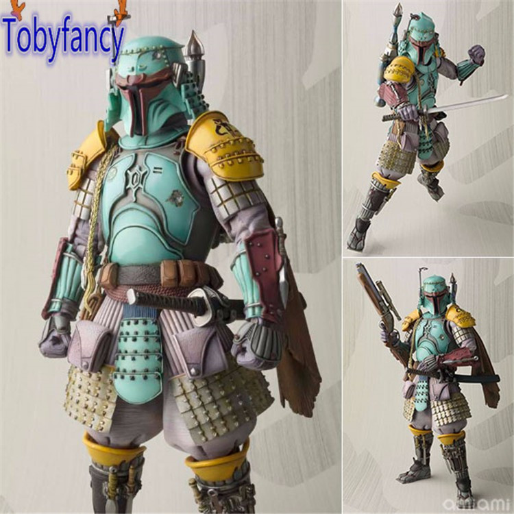 Star Wars Action Figure Boba Fett Samurai Taisho PVC Realization 170mm Anime MOVIE Star Wars Collectible Model Toys Tobyfancy french connection french connection fr003ewfnn59