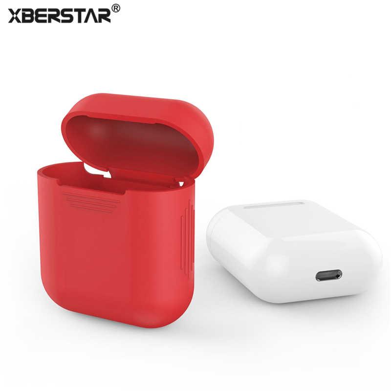 Xberstar Dành Cho Tai Nghe Apple AirPods Không Vỏ Ốp Lưng Silicon Bảo Vệ Túi Chống Mất Tấm Bảo Vệ Phụ Kiện