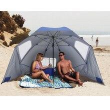 Открытый большой зонтик навес от солнца тент портативный двор пляжный навес палатка