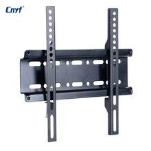 CNYF Universal Fixa TV Suporte de Parede TV de Tela Plana LCD LED Monitor de Quadro para 12-37 Polegada Plana painel
