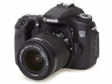 Canon EOS 70D avec EF-S 18-55mm f/3.5-5.6 IS STM Objectif Kit