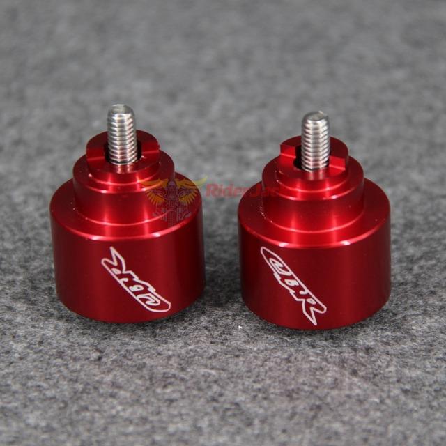 "Logo""CBR"" Motorcycle Handlebars Grips Ends Bar Ends Caps Handlebars For Honda CBR 600 F1/F2/F3/F4/F4i 1987-2006 2003 2004 2005"