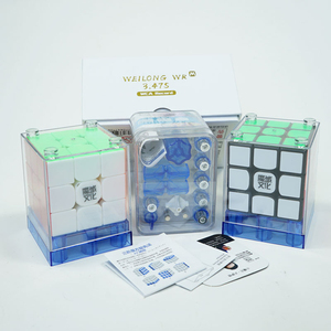 Image 5 - Original MoYu Weilong WR M 3x3x3 Weilong WR Magnetic Cube Puzzle Professional MoYu 3x3 Magnets Cubes For Speeding