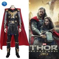 New Men Thor Ragnarok Cosplay Thor Odinson Costume Movie Superhero Cosplay Costume Thor: The Dark World Thor Costume Custom Made
