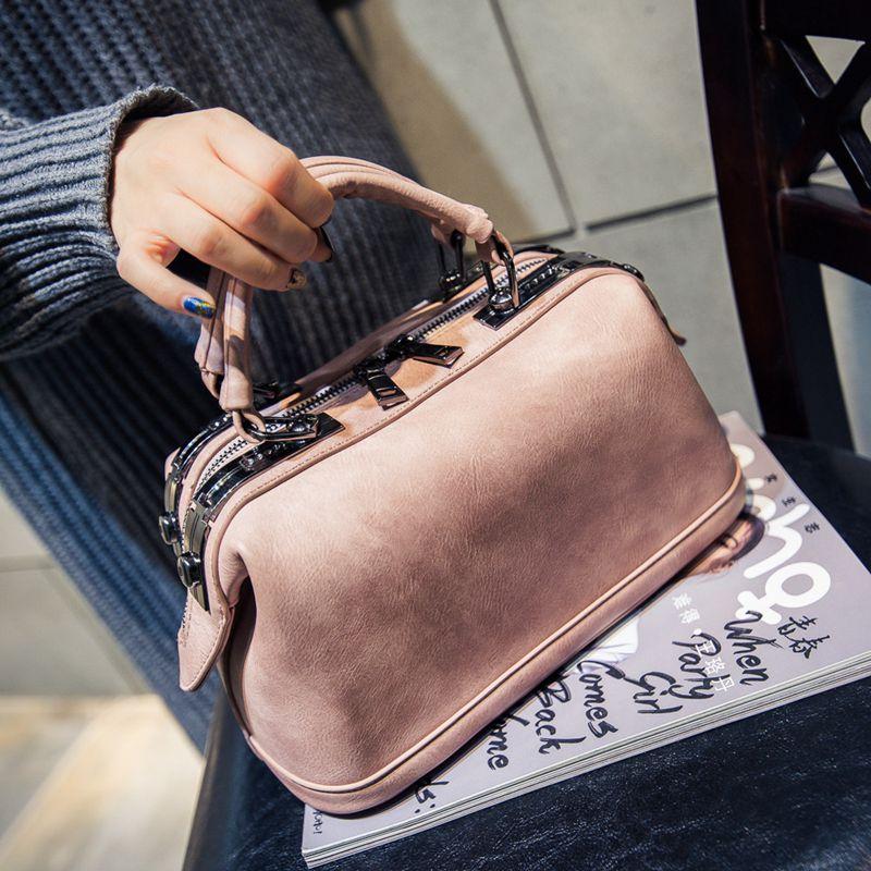 Women Bags 2017 Spring Summer Fashion For BOSS Women Bucket Handbag Fashion Handbag Laptop Messenger Bag