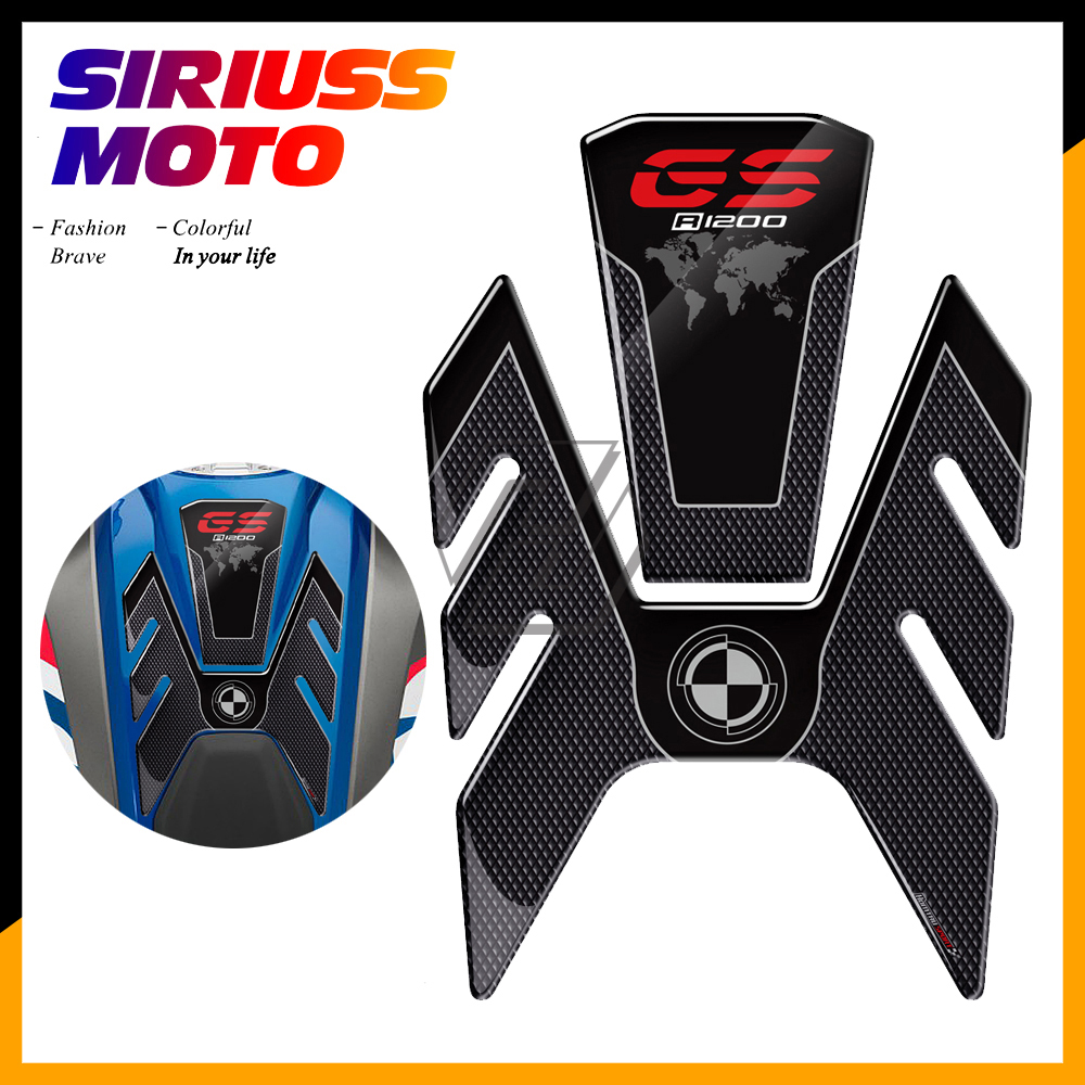 3D Motorcycle Fuel Gas Tank Pad Protector Case For BMW R1200GS R1200 GS Rallye LC 2013-2018