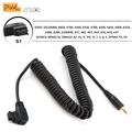 Cabo de pixel cl-s1 obturador controle remoto sem fio para sony A900 A850 A700 A550 A560 TW-282 TC-252 RW-221 T8 T3 TW-283