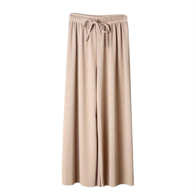 Women Summer pants Fashion Concise Loose High waisted pantalones mujer Straight legged Solid Color All match Pants in Pants amp Capris from Women 39 s Clothing