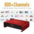 Pacote de Caixa de Tv Android 6.0 IPTV Arabic 626 Europa Notícias Do Esporte Viagem Assinatura IPTV Forte Wifi Bluetooth 2 GB/16G Jogador TV