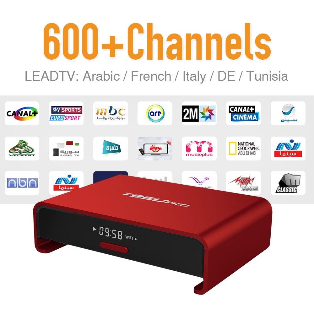 ФОТО Tv Box Android 6.0 Arabic IPTV Package 626 Europe Sport News Travel IPTV Subscription Strong Wifi Bluetooth 2GB/16G TV Player