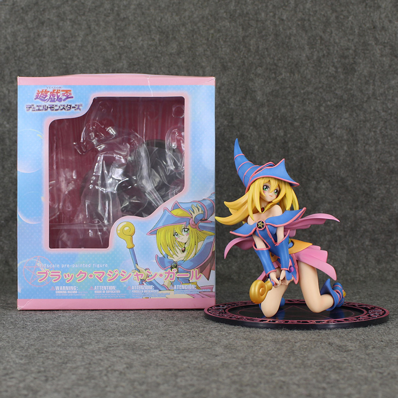 16 5cm Yugioh Dark Magician Girl PVC Action Figure Collection Doll Toy