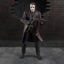 18 centimetri cosplay NECA Batman Il Cavaliere Oscuro Joker Heath Ledger IN PVC Action Figure giocattoli di modello per i regali per bambini