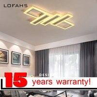 LOFAHS Modern LED Ceiling Chandelier Lighting Creative Design Chandelier For Living Dining Bed Room With Remote