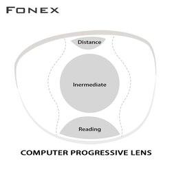 1,56 1,61 офисные прогрессивные линзы с большой и широкой областью обзора для промежуточного использования на расстоянии, как компьютерное чте...
