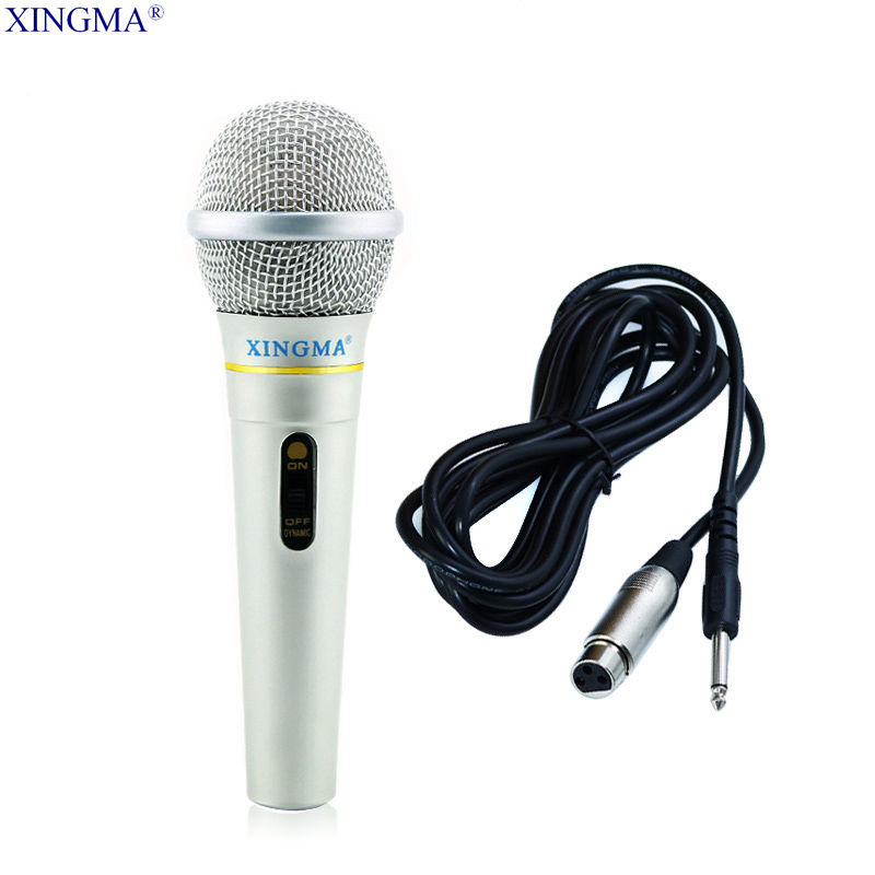 xingma ak 319 dynamic microphone professional wired handheld karaoke microphone studio for. Black Bedroom Furniture Sets. Home Design Ideas