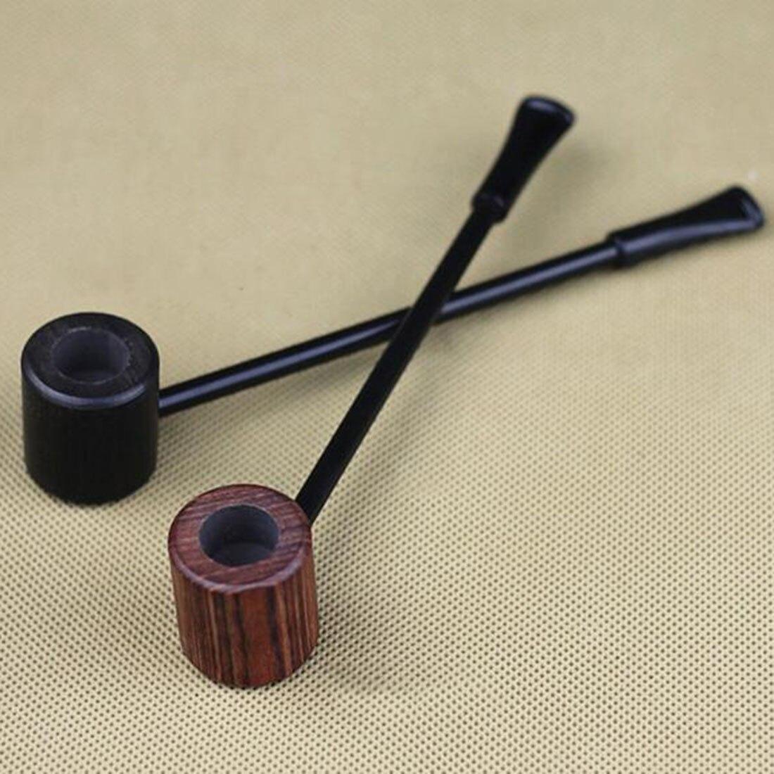 2016 New High Quality Grade Fashion Long Ebony Wood Smoking Pipes Popeye Tobacco Cigarettes Cigar Pipes