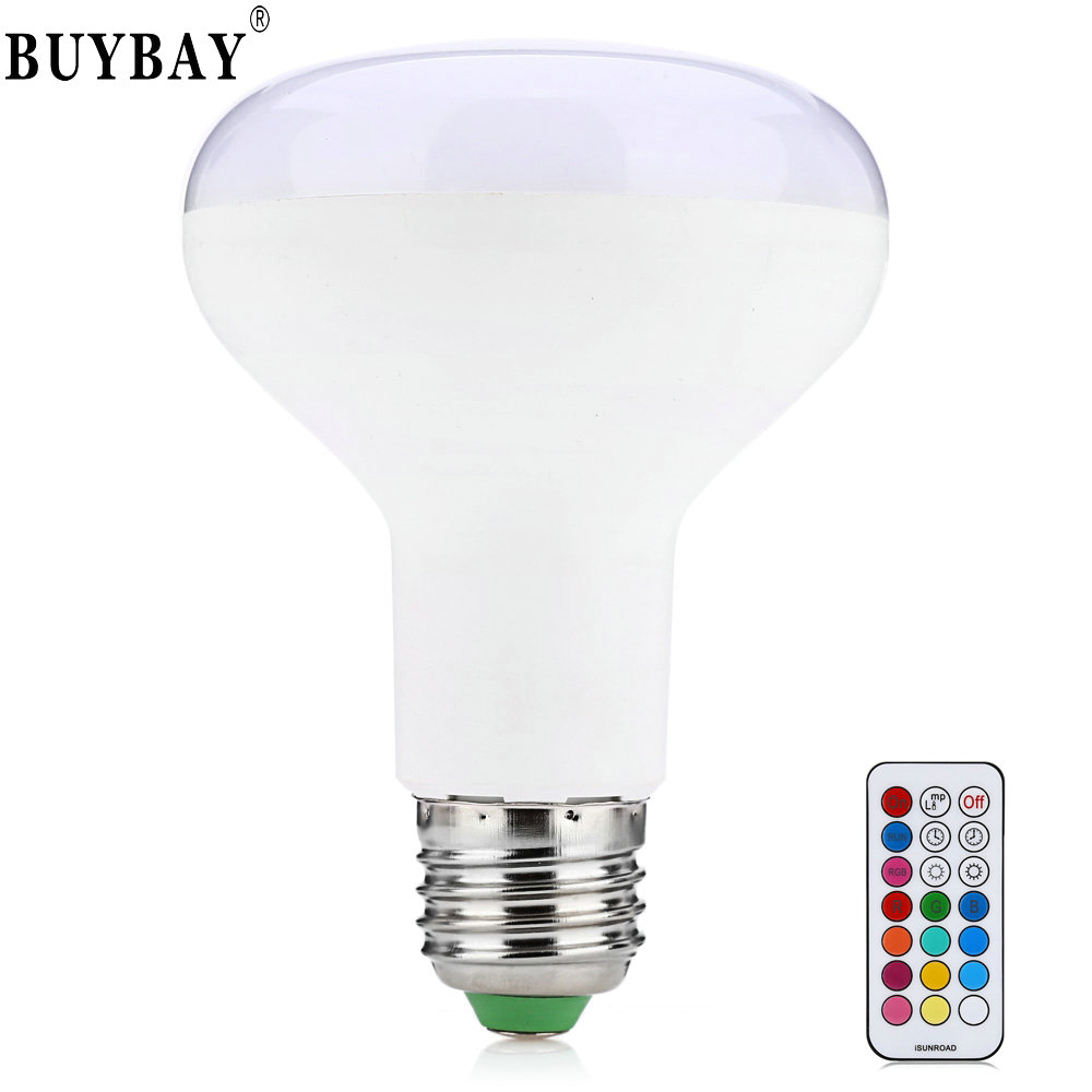 New arrivals AC85-265V E27 10W Dimmable RGB LED lamp Color Changing Bulb light with Remote Control free shipping rgb led bulb 9w 15w rgb bulb e27 e26 e14 gu10 b22 ac 85 265v rgb led lamp with remote control multi color lamp