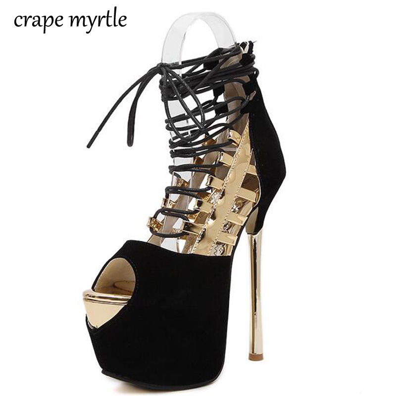 women pumps High Heels Sandals Platform summer Sandals for Women gold silver wedding Evening Party shoes lace up Sandals YMA66 phyanic bling glitter high heels 2017 silver wedding shoes woman summer platform women sandals sexy casual pumps phy4901