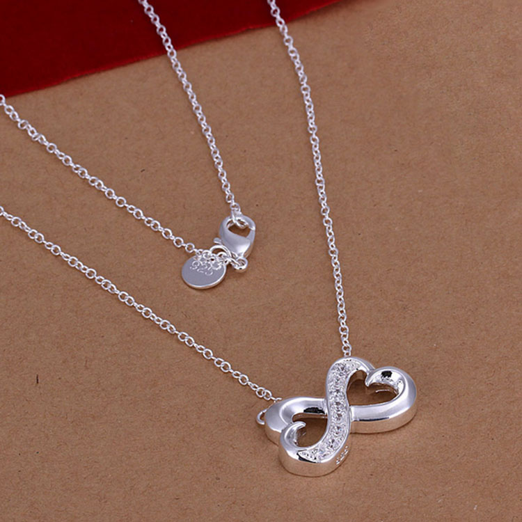K011 Fashion Metal Necklace Baby Teetining Necklace