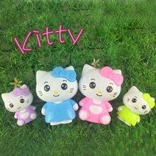 Hello kitty Hello Kitty 4 KT doll baking cake decoration ornaments cartoon toy hand термос термочашка hello kitty hellokitty kt 200ml 280ml