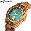 Shifenmei часы Женская мода 2019 деревянные часы женские часы с деревянным браслетом часы Топ бренд Кварцевые женские наручные часы relogio feminino