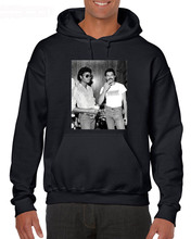 Newest 2018 MenS Fashion Print Hoodies Michael Jackson & Freddie Mercury Pop Lgbt Funny Sweatshirt