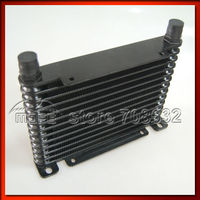 8 31 MOFE AN10 13 Row Aluminum Racing Car Drag Drift Black Oil Cooler Body