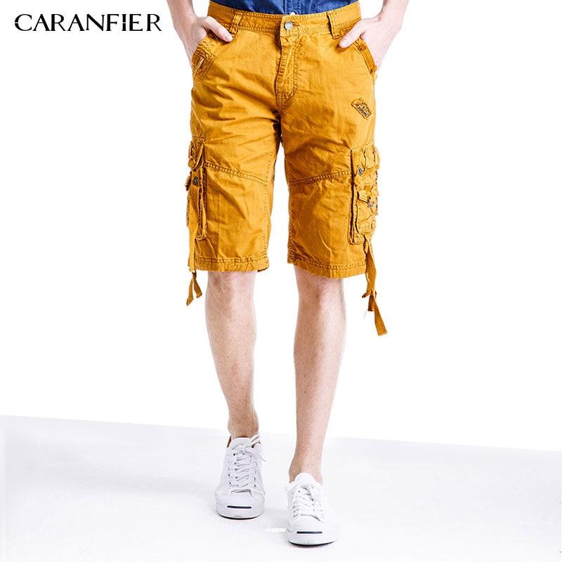 CARANFIER 2017 Mens Shorts Summer Fashion Brand-clothing Mens Military Cargo Shorts For Men Shorts Male Beach Overalls Men Short