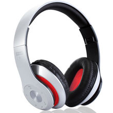 Subwoofer Wireless Bluetooth Headset Stereo HandsFree Earphone Foldable Headband Headset with Mic MP3 Player TF Card FM