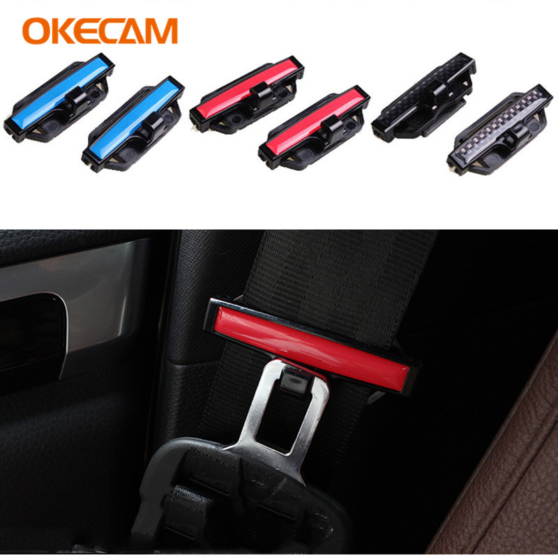 2x Car Seat Belt Buckle Clip for Audi A3 A4 B6 B8 B7 B5 B9 A6 C5 C6 C7 4f A5 Q5 Q7 80 TT 100 A1 Q3 A8 8P 8L 8V S line S3 A7 S4