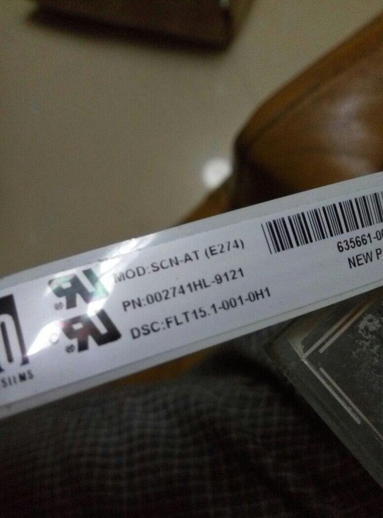 Здесь продается  compatible Touch screen MOD:SCN-AT(E274) PN:002741hl-9121 DSC:FLT15.1-001-0H1  Компьютер & сеть