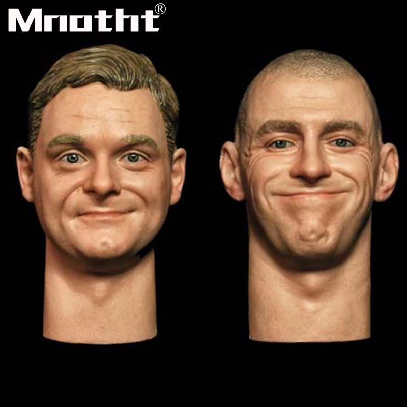 """FacePool 1:6 FP-A-001 Head Sculpt W Expression Carving F 12/"""" Male Action Figure"""