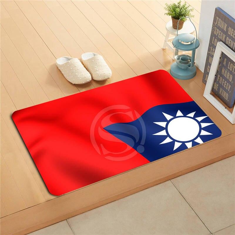 U&!64 Custom National flag #o Doormat Home Decor Door mat Floor Mat Bath Mats foot pad T-725As64