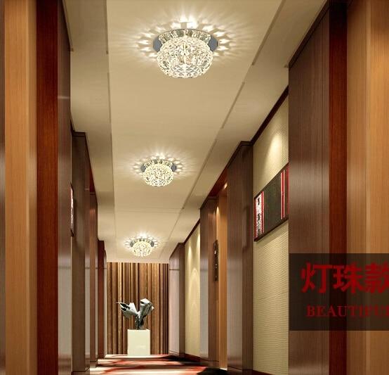 Us 305 26 Offcolorpai 5 W Nowoczesne Lampy Sufitowe Led Do Salonu Korytarz Akrylowe Lampa Przedpokój Nabłyszczania Home Dekoracji 220 240 V