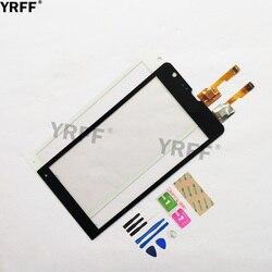 4.6 ''dotykowy dla Sony Xperia SP C5302 C5303 C5306 M35H ekran dotykowy Digitizer czujnik dotykowy szklany obiektyw wymiana panelu