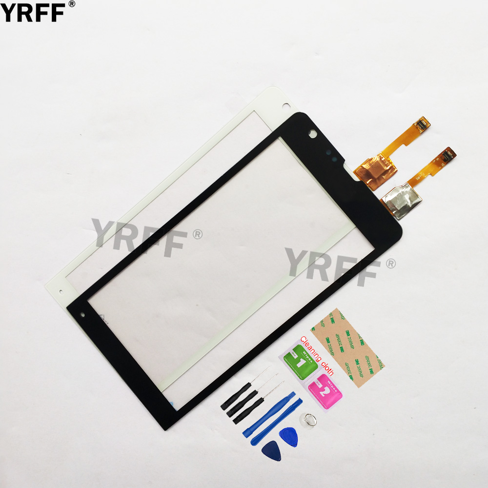 4.6'' Touch For Sony Xperia SP C5302 C5303 C5306 M35H Touch Screen Digitizer Sensor Touch Glass Lens Panel Replacement