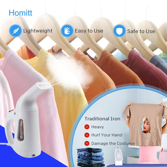 110V 220V New Mini Steam Iron Handheld dry Cleaning Brush Clothes Household Appliance Portable Travel Garment Steamers Clothes 4